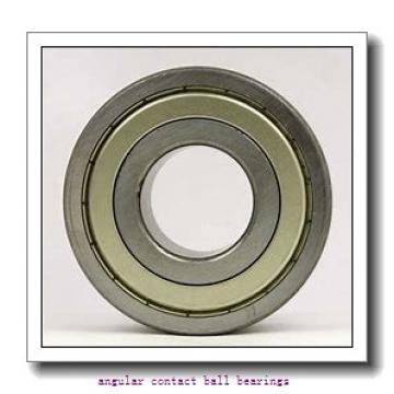 40 mm x 76 mm x 36 mm  ISO DAC40760036 angular contact ball bearings