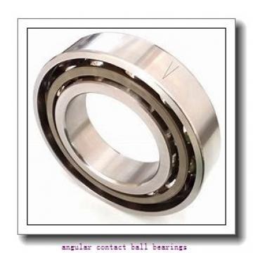90 mm x 140 mm x 24 mm  SKF 7018 ACD/P4AH1 angular contact ball bearings