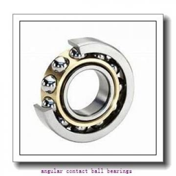 ISO QJ208 angular contact ball bearings