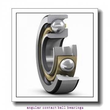 100 mm x 215 mm x 47 mm  ISO 7320 B angular contact ball bearings