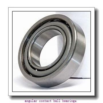 45 mm x 100 mm x 25 mm  SKF QJ 309 MA angular contact ball bearings