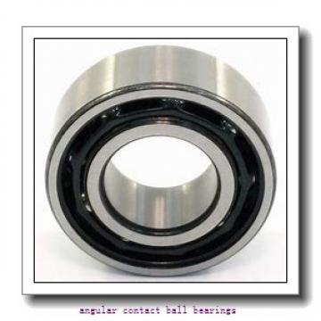 21,8 mm x 48 mm x 26,7 mm  SNR GB12123 angular contact ball bearings