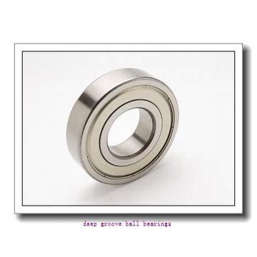 80 mm x 125 mm x 22 mm  ISO 6016 ZZ deep groove ball bearings