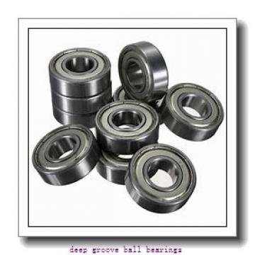 22 mm x 50 mm x 14 mm  KOYO 62/22-2RU deep groove ball bearings