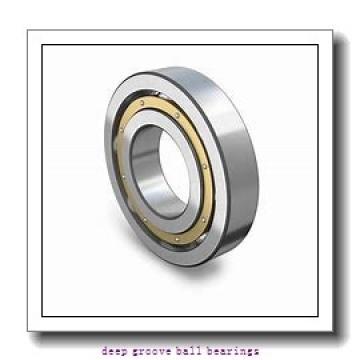 20 mm x 42 mm x 12 mm  KOYO SV 6004 ZZST deep groove ball bearings