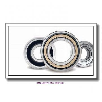 30 mm x 62 mm x 38.1 mm  NACHI MUC206 deep groove ball bearings