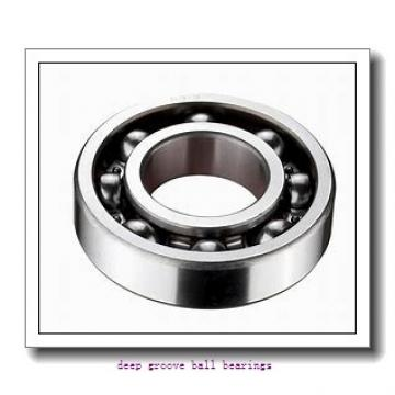 9 mm x 30 mm x 10 mm  ISO 639ZZ deep groove ball bearings