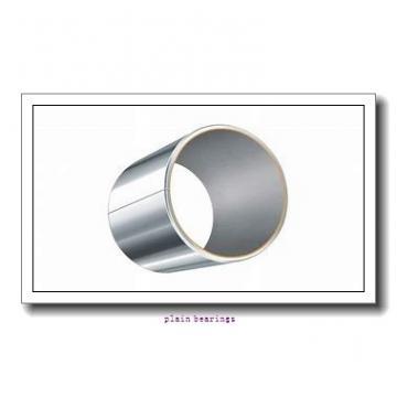 50 mm x 80 mm x 20 mm  SKF GAC 50 F plain bearings