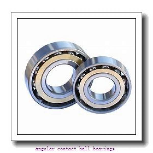 95 mm x 200 mm x 45 mm  SKF 7319BEP angular contact ball bearings #1 image