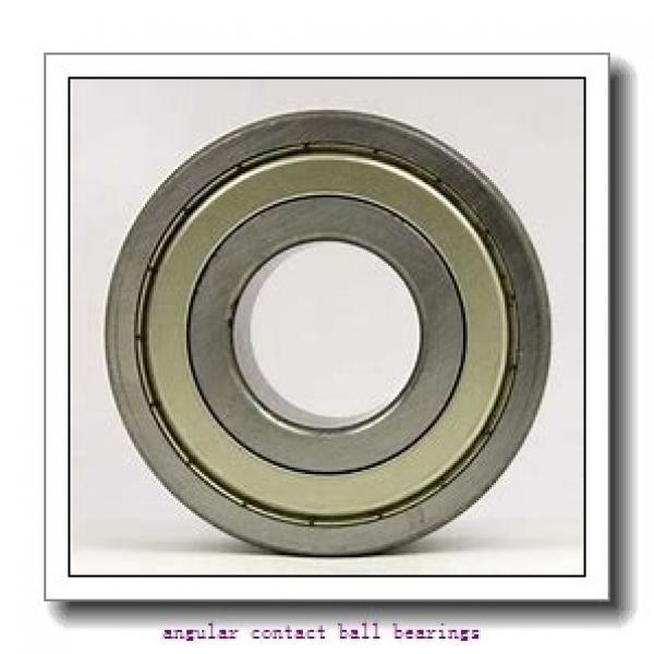 90 mm x 140 mm x 24 mm  ISO 7018 B angular contact ball bearings #1 image