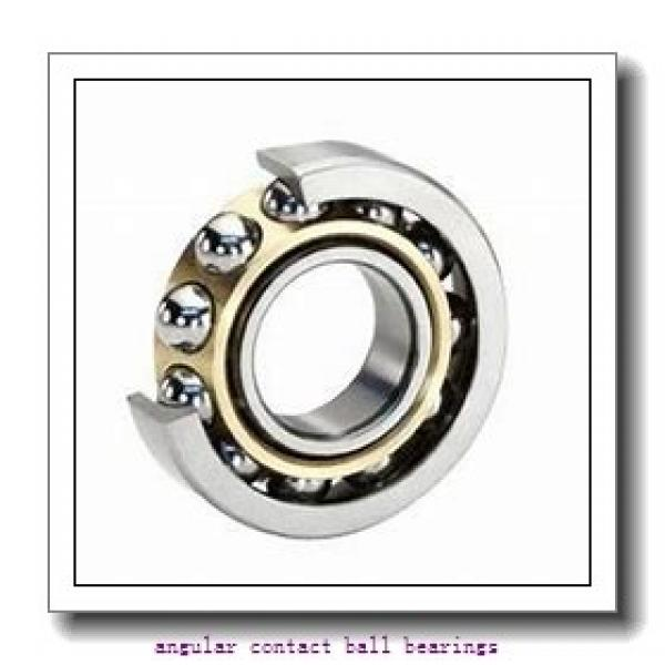 50 mm x 110 mm x 27 mm  NKE QJ310-MPA angular contact ball bearings #1 image
