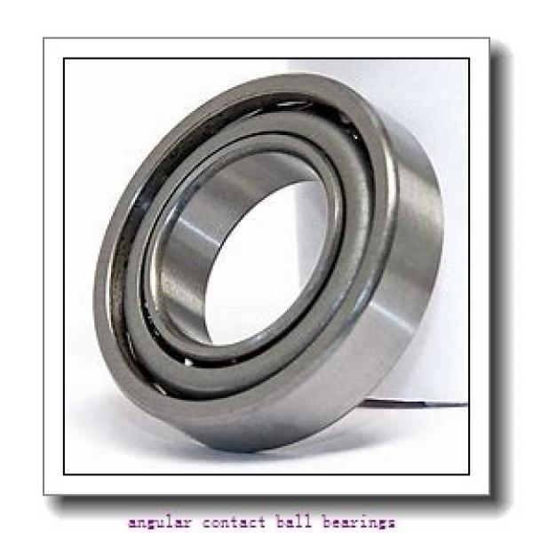 90 mm x 140 mm x 24 mm  ISO 7018 B angular contact ball bearings #2 image