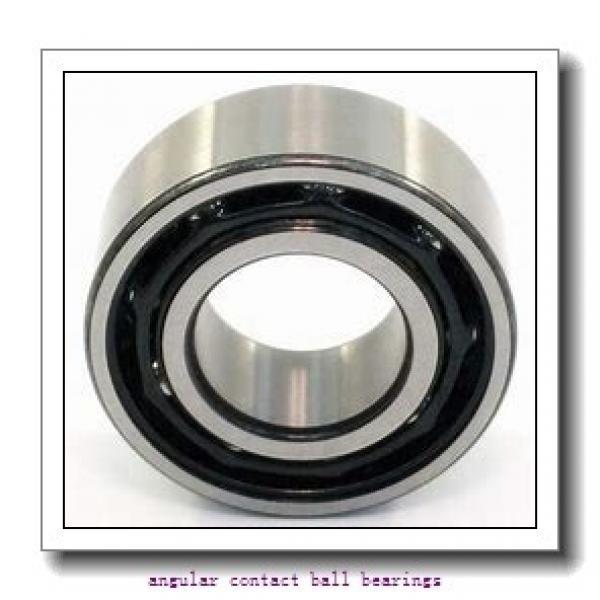 80 mm x 125 mm x 22 mm  SKF 7016 CD/P4A angular contact ball bearings #1 image